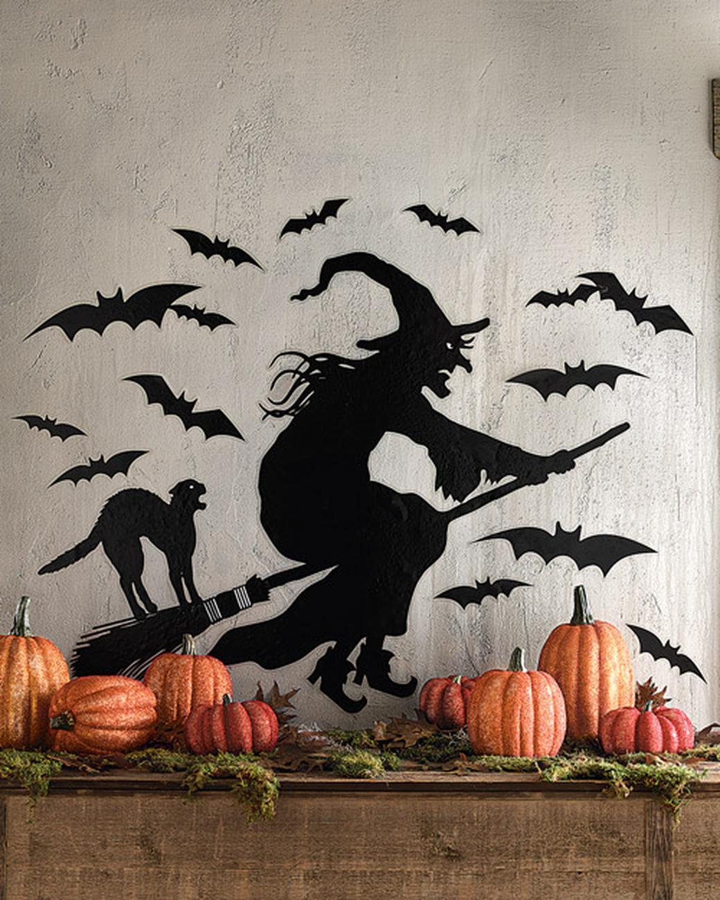 Как украсить стены на хэллоуин