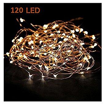 Copper wire lights
