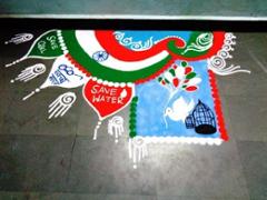 Beautiful Rangoli Designs For Independence Day Sameeraat Dreamstream Com