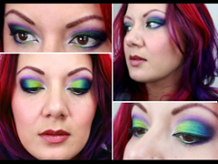 Mardi Gras Eye Makeup Looks