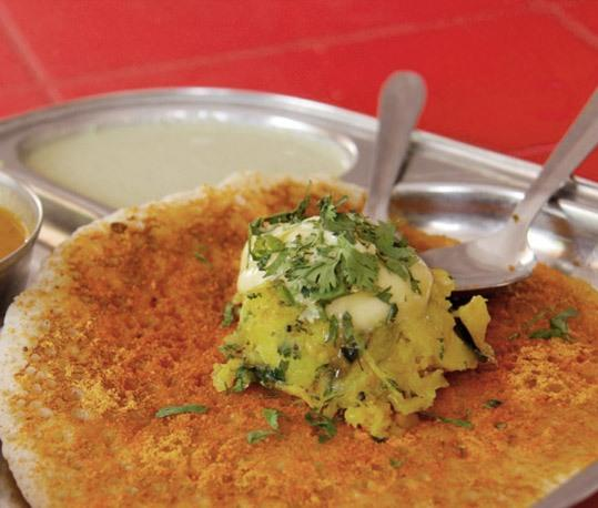 Yummy dosa with butter recipe