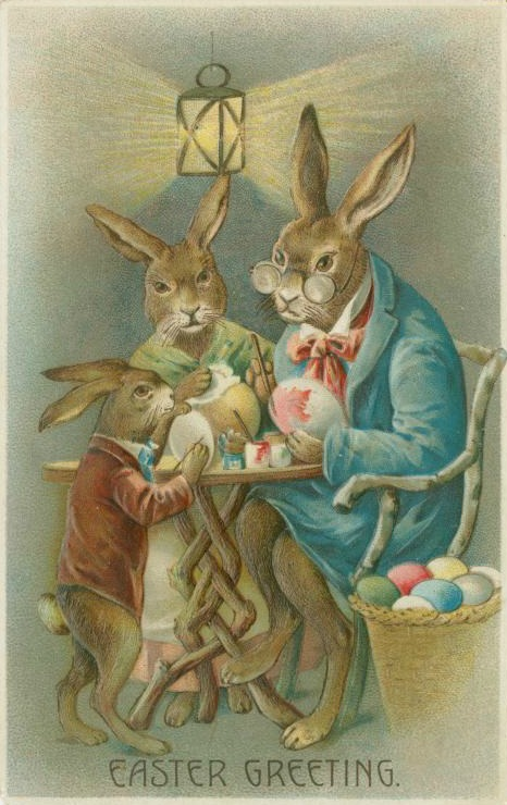 Antique Easter Card