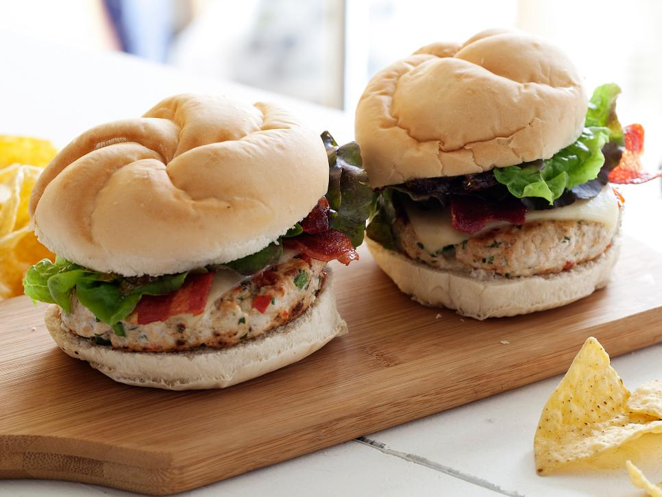 Rachael's Southwest Turkey Burgers