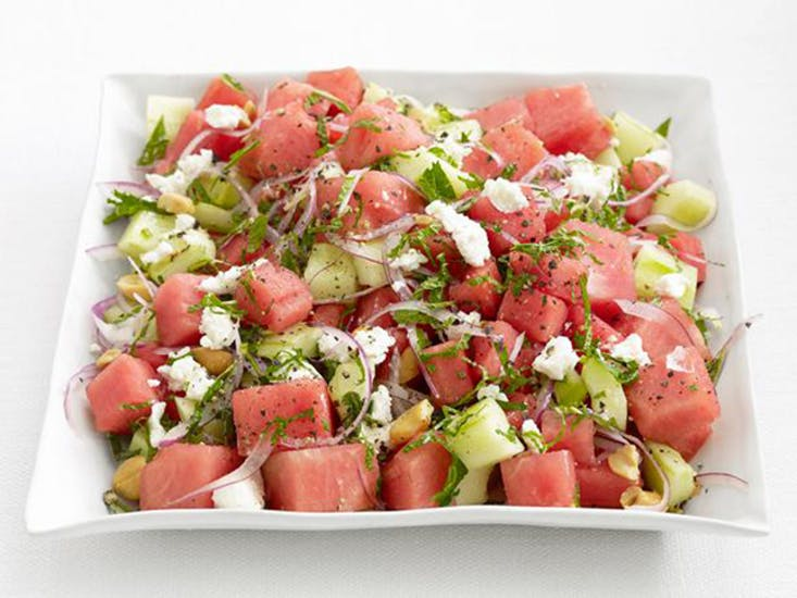 Watermelon-Cucumber-Salad