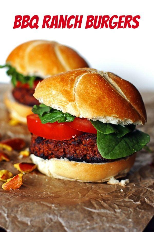 BBQ Ranch Burger recipe