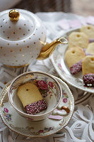 Teatime and Purple Berry Scones