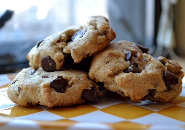 Chocolate bacon chip cookies