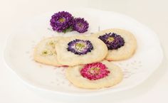 Flowers edible desserts