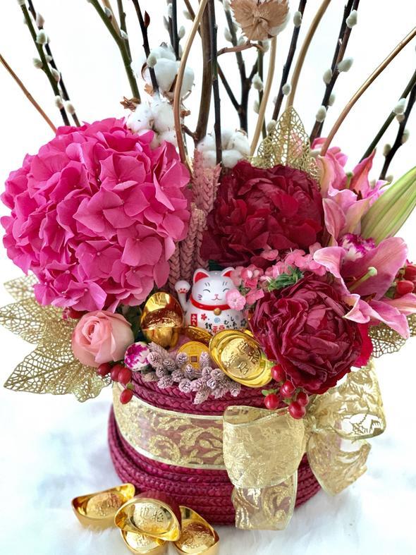 CNY Majestic Blooms Box$178.00