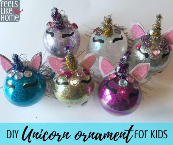 !!!!!!DIY Unicorn Ornament
