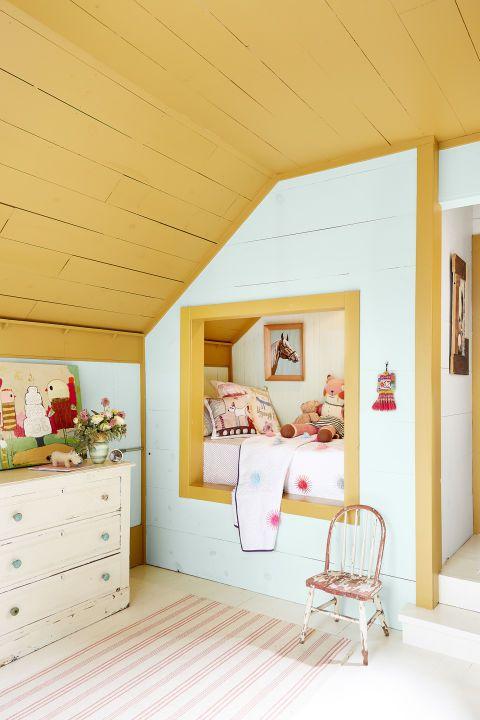 Create a cozy little sleeping nook