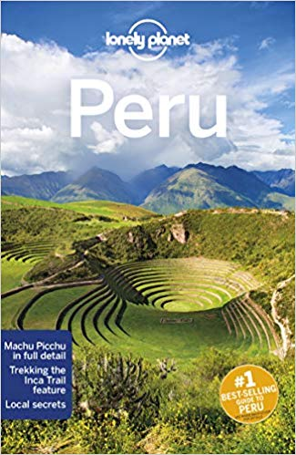 Lonely Planet Peru in Phunshine.