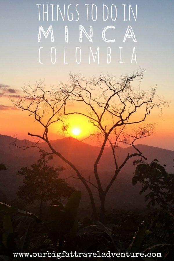 Sunrise in Minca, Columbia