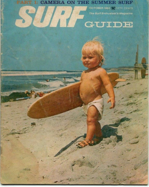 Vintage Little Surfer