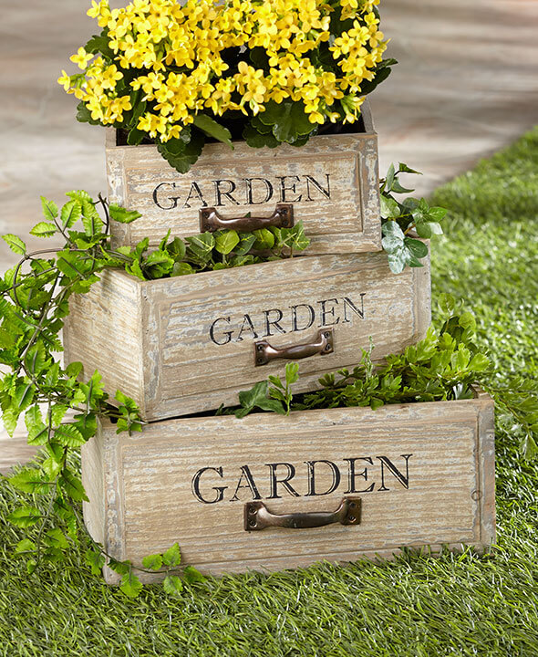 DIY Garden Drawers