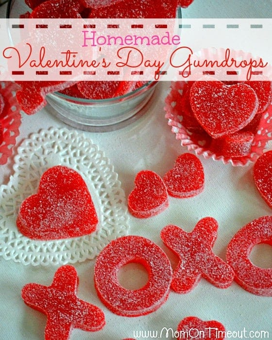 VALENTINE'S DAY HOMEMADE GUMDROPS