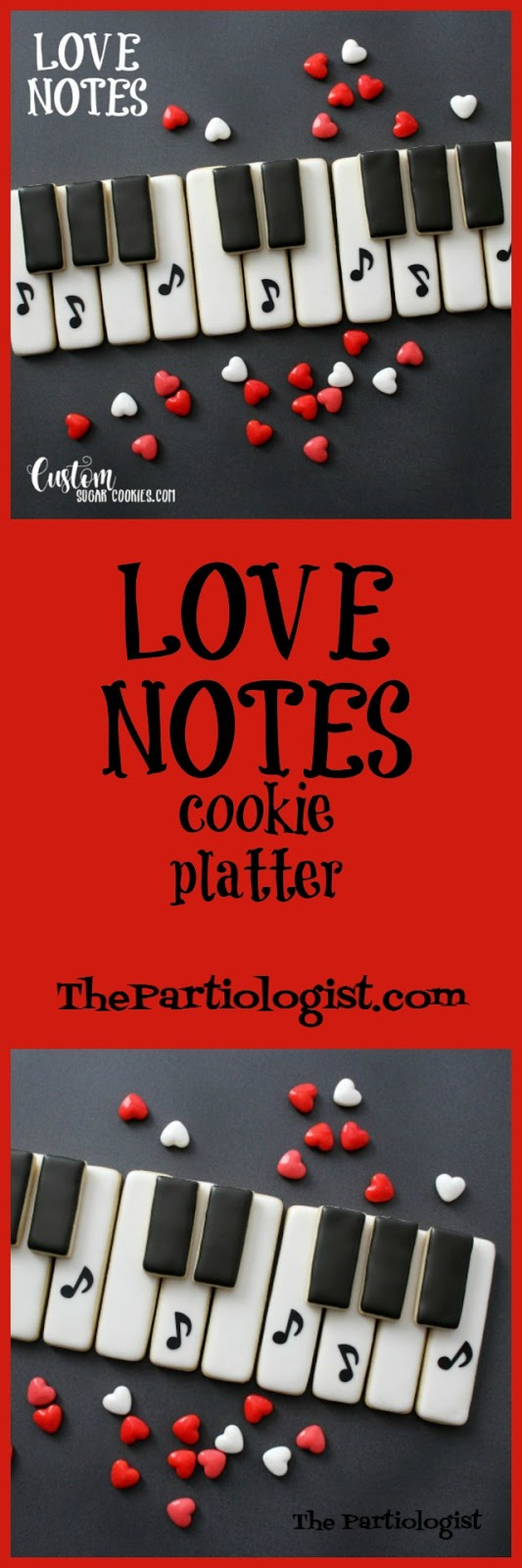 Love Notes Cookie Platter