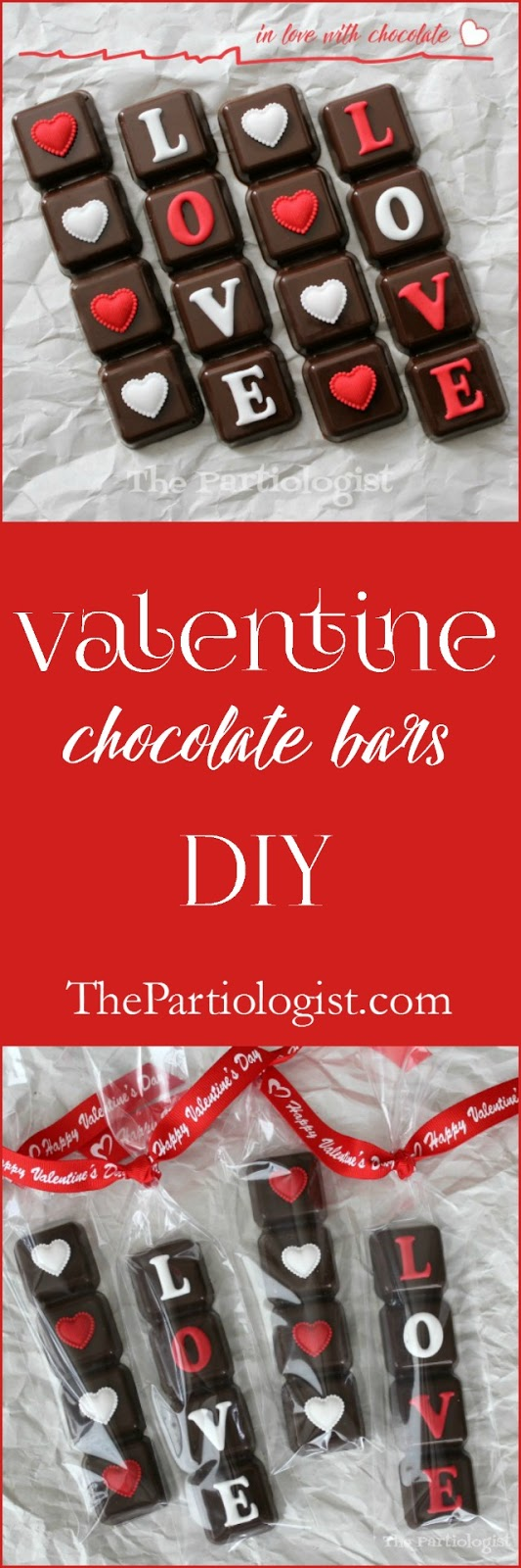 Valentine Chocolate Bars