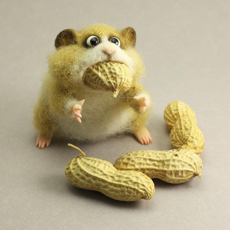 Felted Hamster