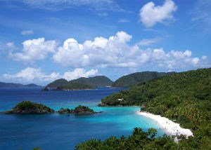 Virgin Islands - Trunk Bay Overlook