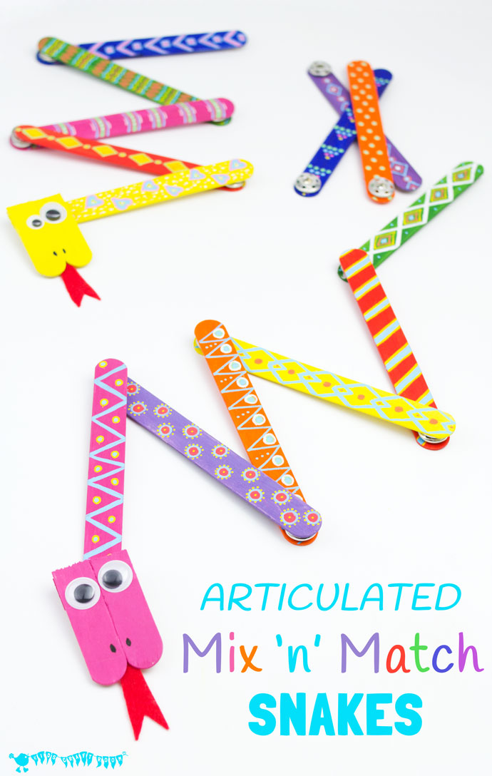 Craft stick crafts for kids