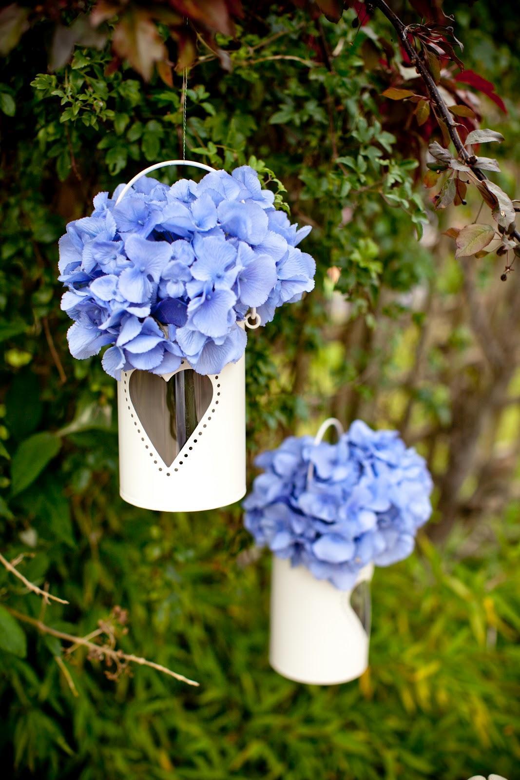 Metal Patio flower hanging