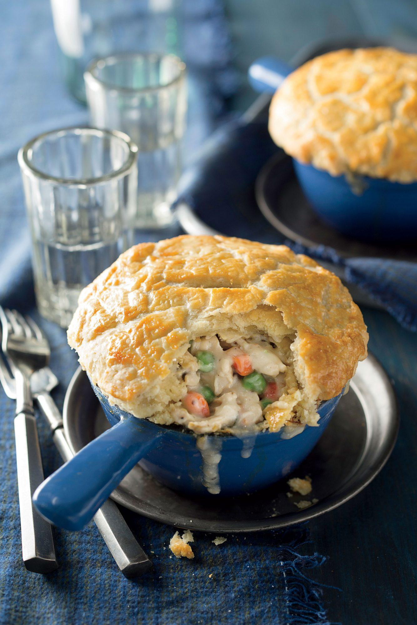 Double-Crust Chicken Pot Pies