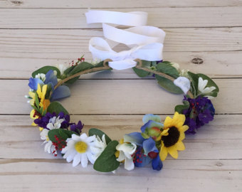 Wedding country crown flower