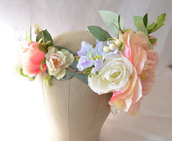 Crown flower boho
