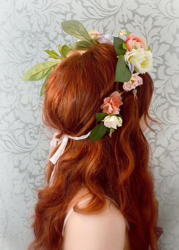 Boho ... flower crown