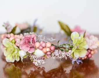 Spring Flower Crown