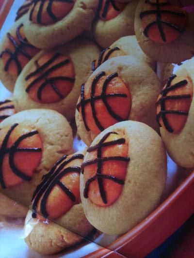 March Madness Basketball Appetizers