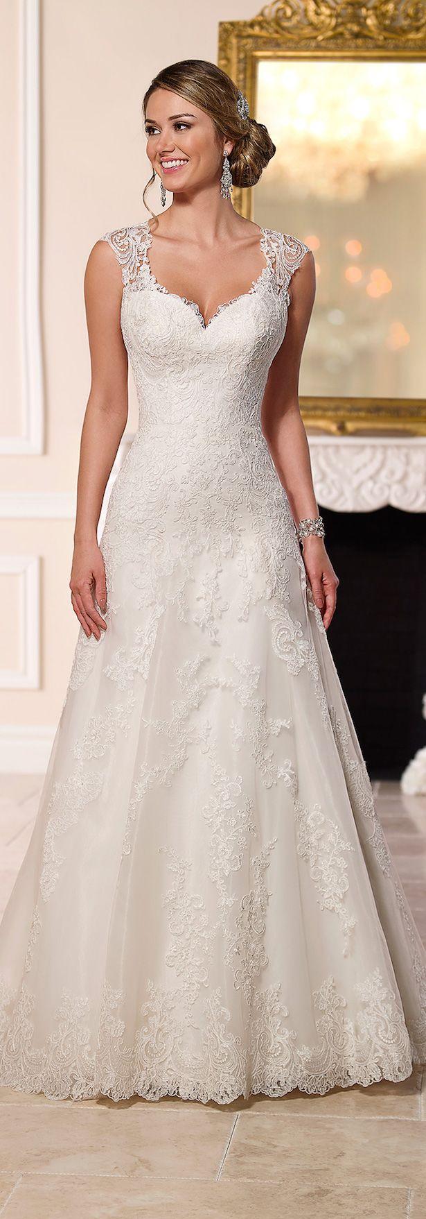 Spring york stella wedding dress