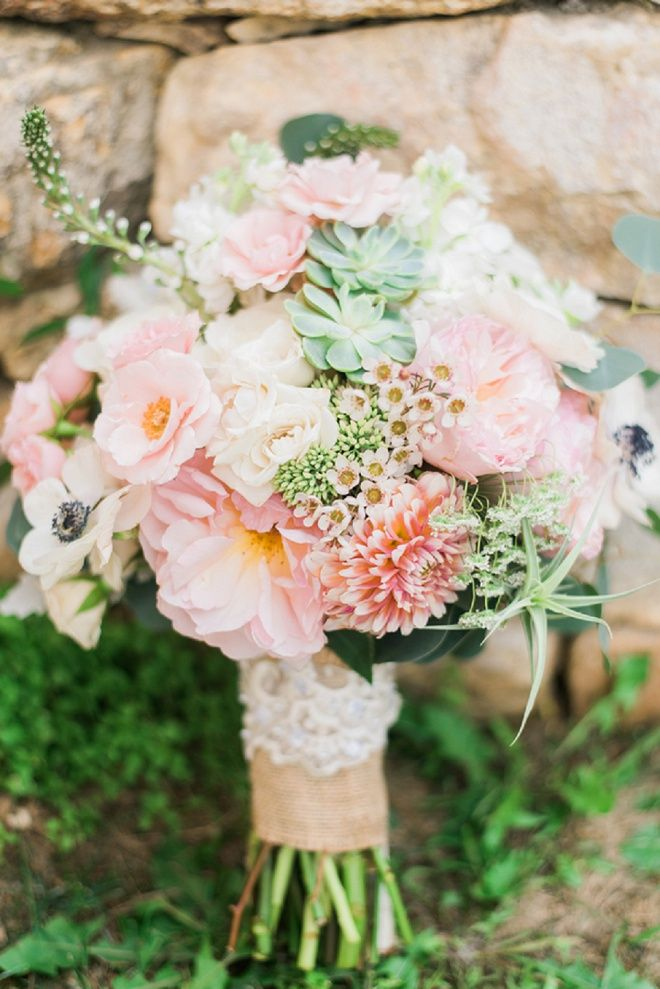 Wedding spring bouquets