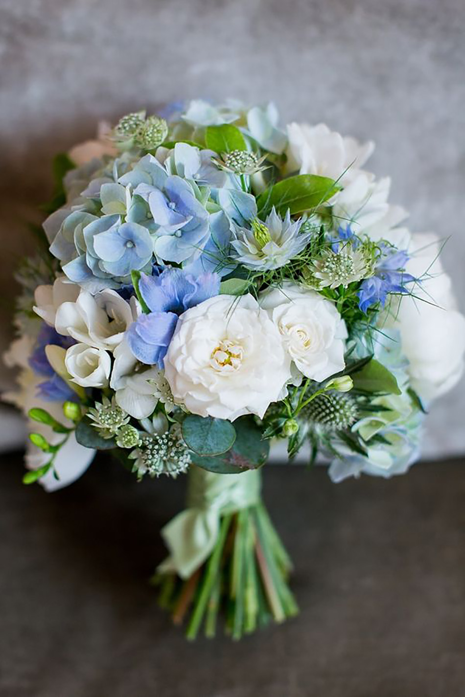Spring flowers wedding bouquets