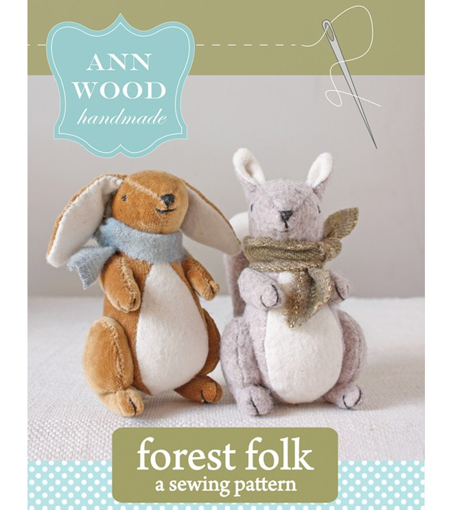 forest folk : pdf pattern$9.00