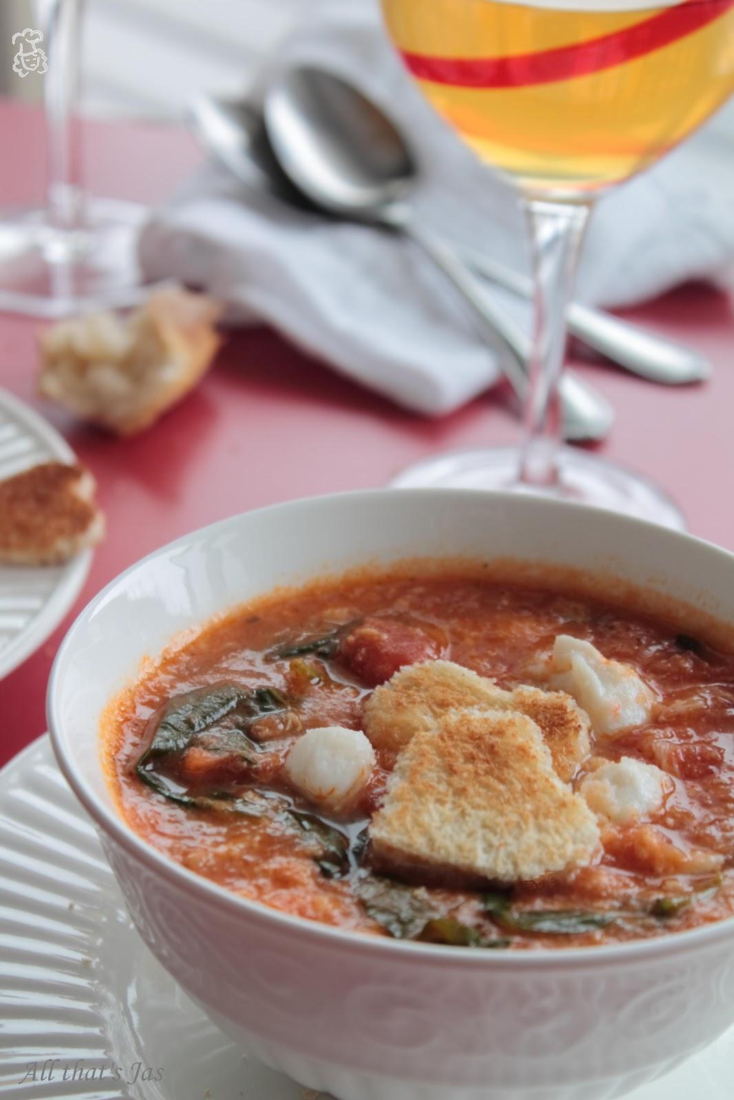 Spicy Cajun Crab Soup