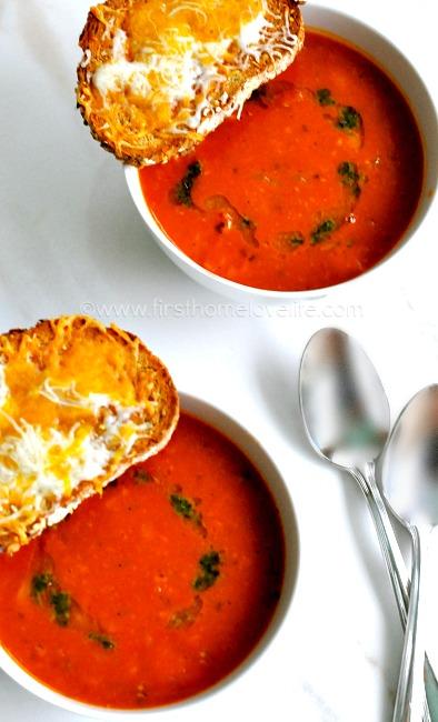 Tomato Chicken Soup