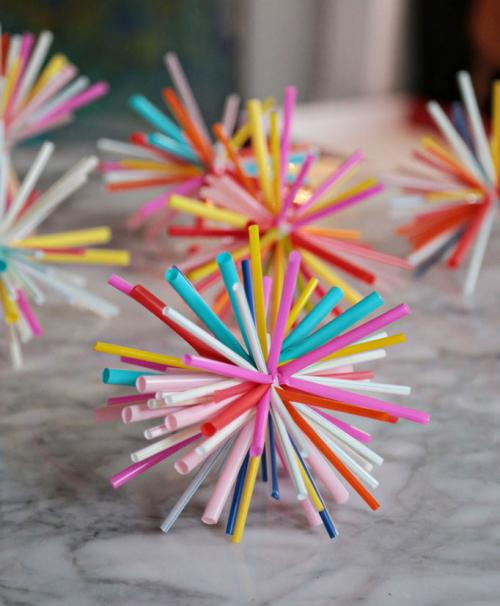 drinking straw amazing star