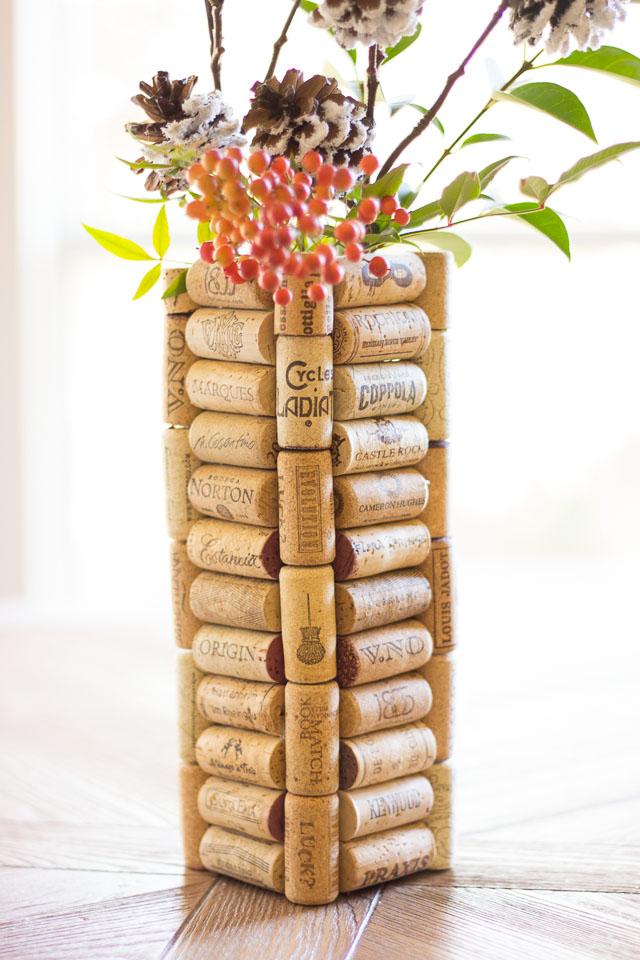 DIYT Wine Cork Vase