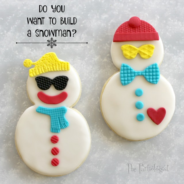 Snowmen Dress Up Cookies!