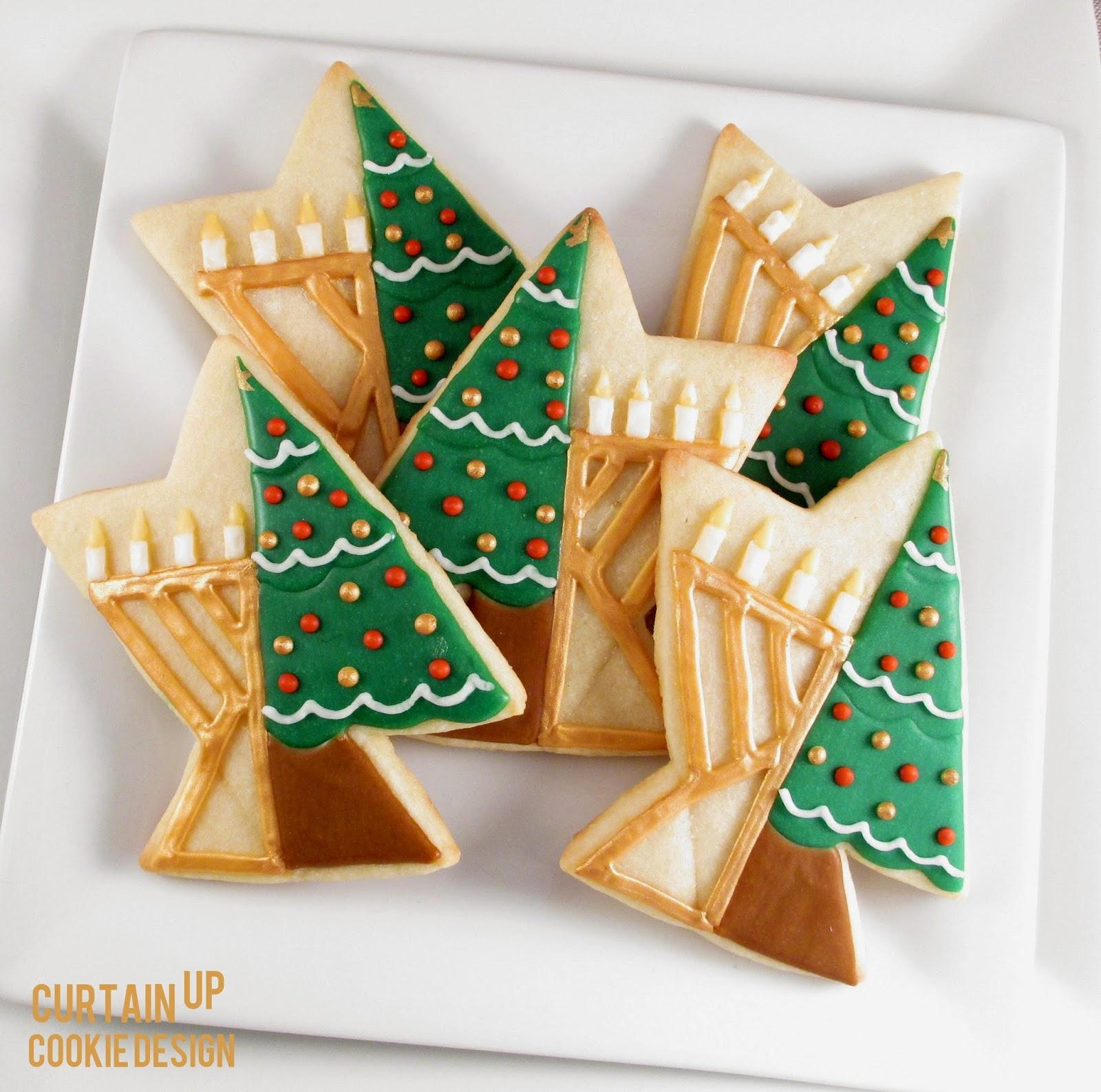 Chrismukkah Cookies!