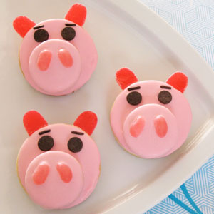 Hamm Cookies from Toy Story