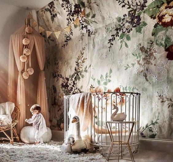 In the peachy nursery