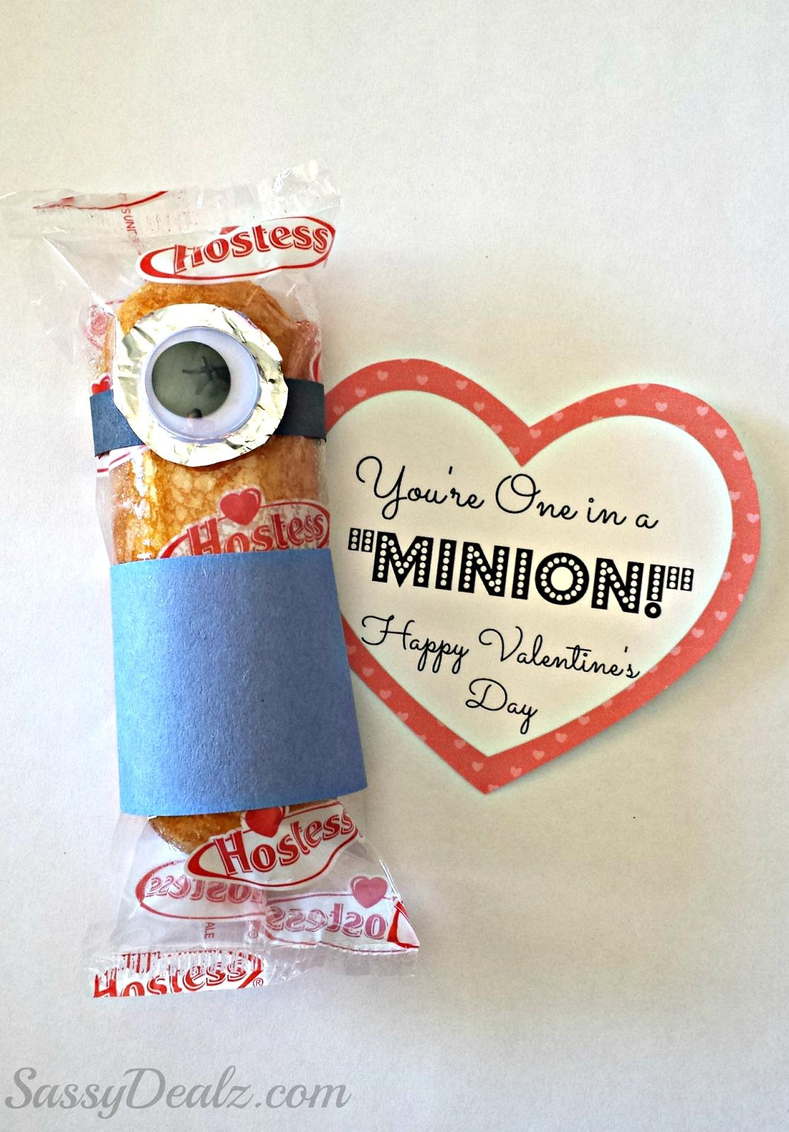 twinkie valentines day class treat