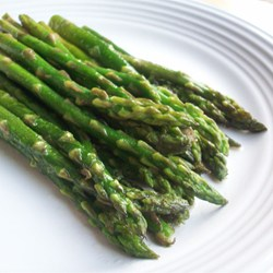 Asparagus pan-fried