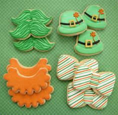 Patrick'S st. pops day cookie
