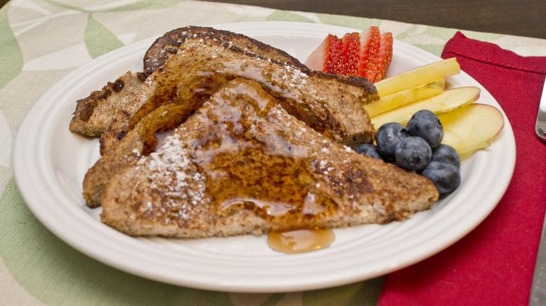 Mama trim healthy toast french