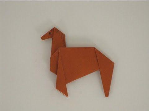 Origami crafts horse
