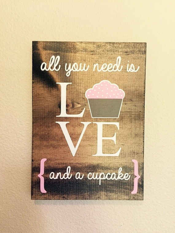 Alll you need is love and a cucake